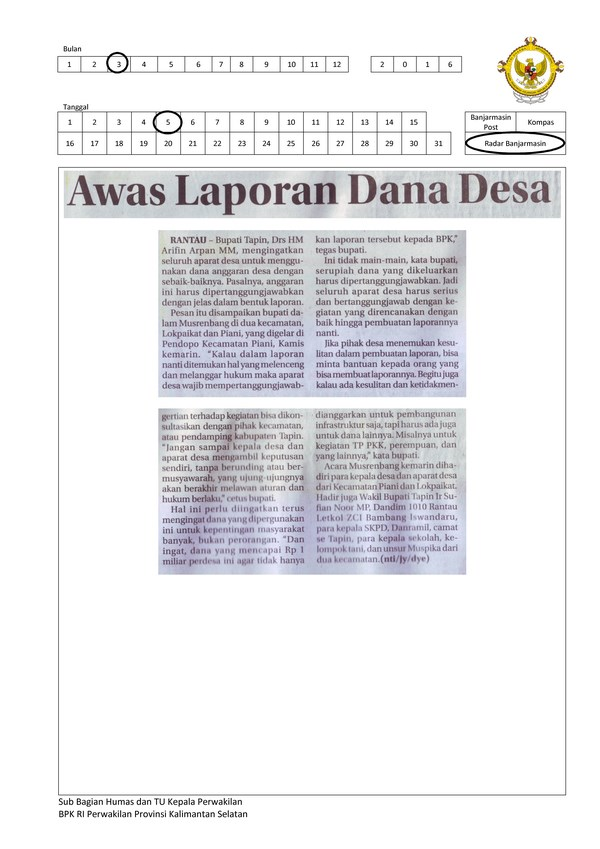 Awas Laporan Dana Desa (Copy)