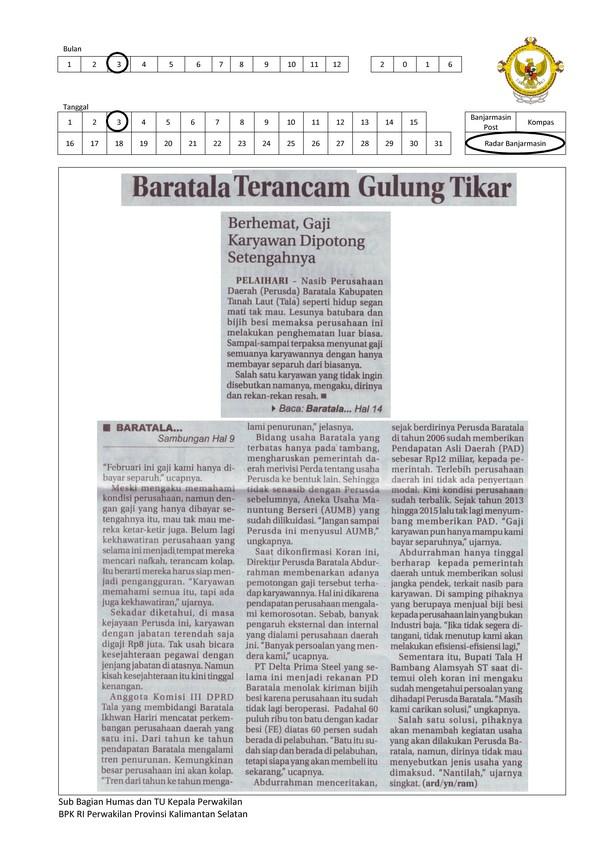 Baratala Terancam Gulung Tikar (Copy)